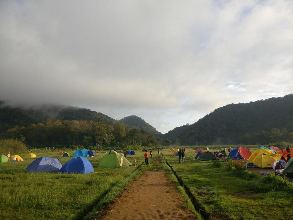 Serunya Berwisata Alam di Kampung Cai Ranca Upas