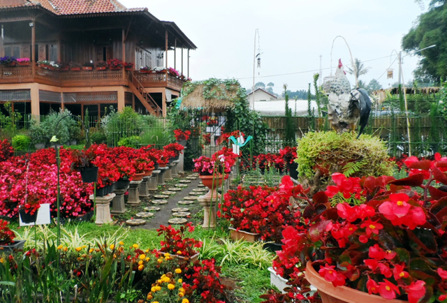 Taman Bunga Bandung Wisata Romantis Yang Bikin Baper!
